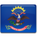 Dakota, Flag, North Icon