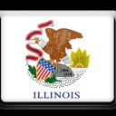 Flag, Illinois Icon