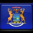 Flag, Michigan Icon