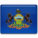 Flag, Pennsylvania Icon