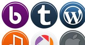 Social Media Simple Icons