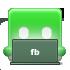 Facebook, Laptop Icon