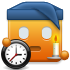 Clock, Night, Time Icon
