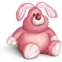 Bear, Bunny, Cute, Teddy, Toy Icon