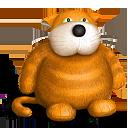 Bear, Cat, Teddy, Toy Icon