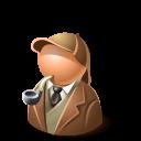 Detective, Holmes Icon