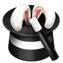 Ears, Wand Icon
