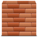 Bricks, Firewall Icon