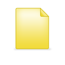 Document, Plain Icon