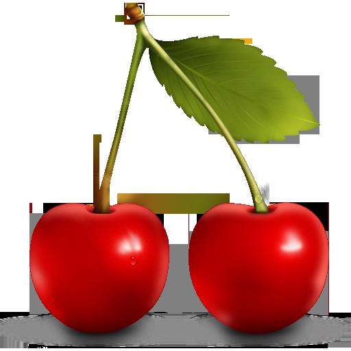 Berries, Cherry, Fruit Icon