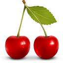 Berries, Cherry, Fruit Icon