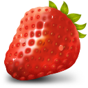 Fruit, Strawberry Icon