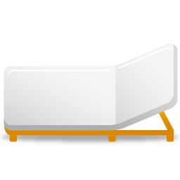 Bed, Rollaway Icon