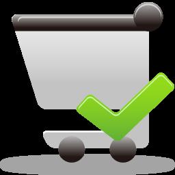 Accept, Cart, Shopping Icon