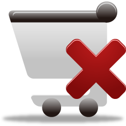 Cart, Remove, Shopping Icon