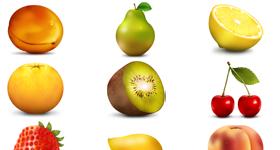 Paradise Fruit icons