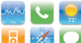 Open Phone Icons