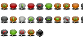 Bubbles Icons