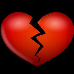 Broken, Heart Icon