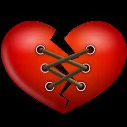 Heart, Stitch Icon