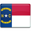 Carolina, Flag, North Icon