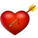 And, Arrow, Heart Icon