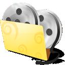 Folder, Icon, Video Icon