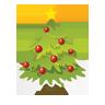 Christmas, Icon, Tree Icon