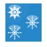 Christmas, Flakes, Icon, Snow Icon