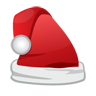 Cap, Christmas, Icon, Santa Icon