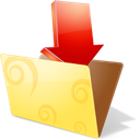 Downloads, Folder, Icon Icon