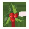 Christmas, Icon, Mistletoe Icon
