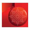 Bauble, Christmas, Icon Icon