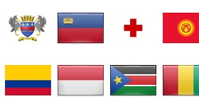 2400 Flags Icons