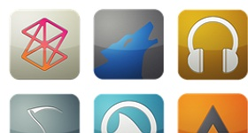 Flurry For Audio 3 Icons