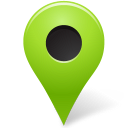Chartreuse, Map, Marker, Outside Icon
