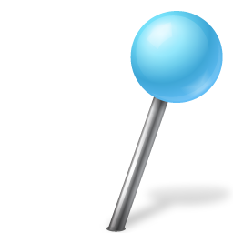 Azure, Ball, Map, Marker, Right Icon
