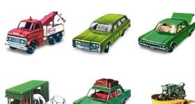Matchbox Car Icons
