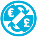 Currency, e, p Icon