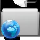 Folder, Graphite, Sites Icon