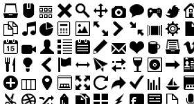 Mimi Glyphs Icons