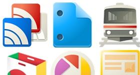 New Google Product Icons