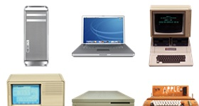 Old Apple Devices Icons