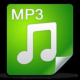 Filetype, Icon, Mp Icon