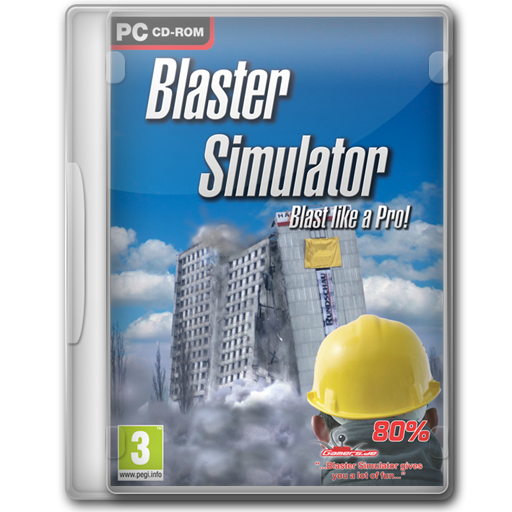 Blaster, Simulator Icon