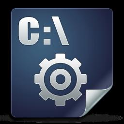 Document, Exe, Icon Icon