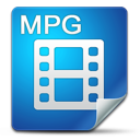 Filetype, Icon, Mpg Icon