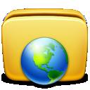 Folder, Icon, Network Icon
