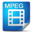 Filetype, Icon, Mpeg Icon