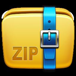 Archive, Folder, Icon, Zip Icon